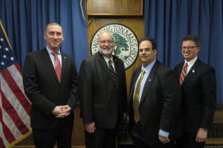Gregory B. Bendel, Kevin A. Caira, Michael V. McCoy and Jonathan R. Eaton
