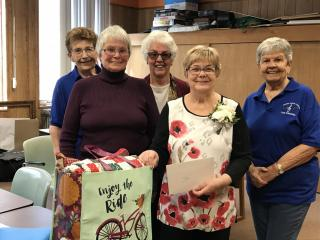 Peggy Reese's Retirement Quilt